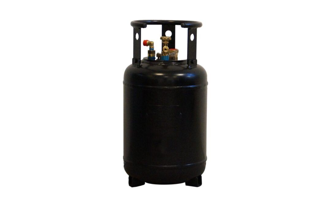 30 Liter Tankflasche inkl. 80% Füllstopp – Ohne 10 Jahresprüffrist