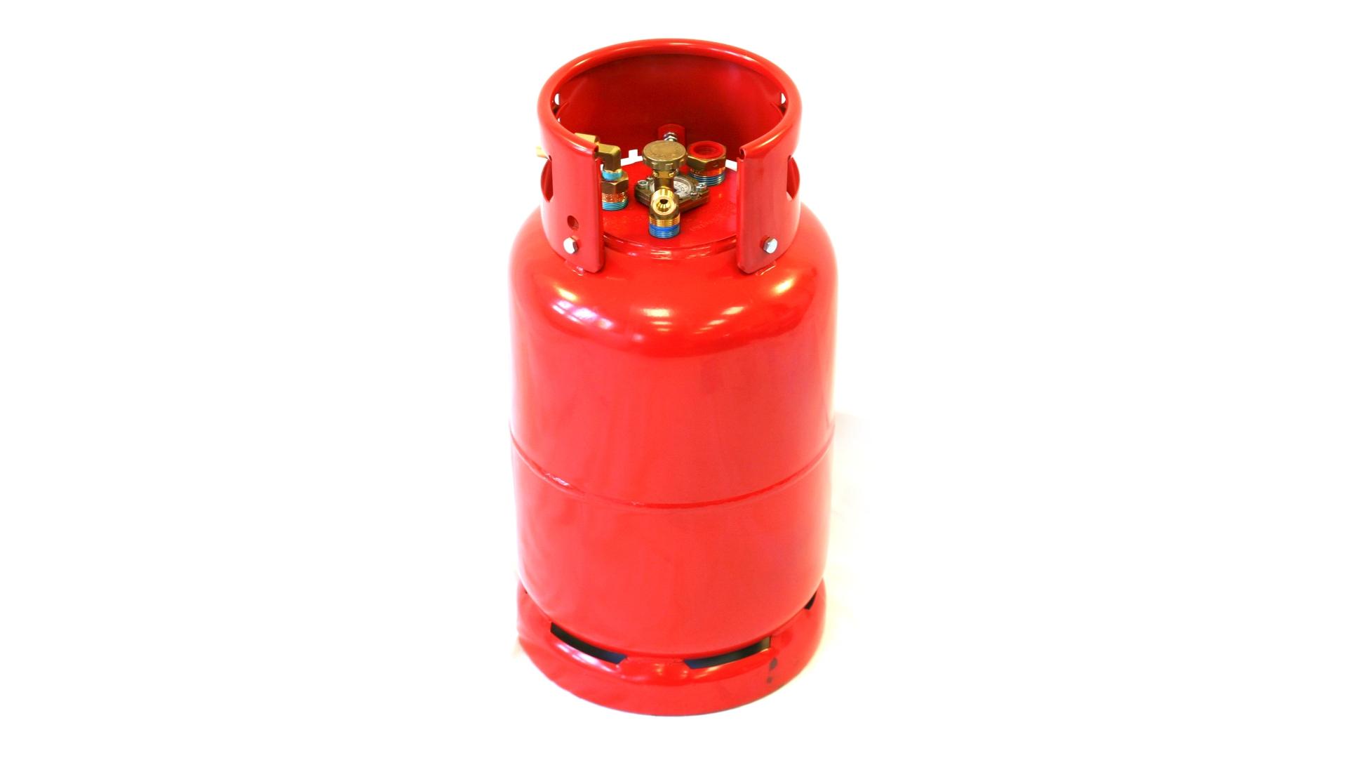 GZWM Tankflasche 36 Liter mit 3 Punktventil