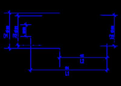 DREHMEISTER Euronozzle Autogas-Adapter mit M10-Außengewinde
