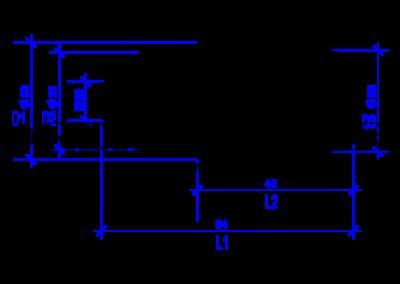 DREHMEISTER Euronozzle Autogas-Adapter mit M12-Außengewinde