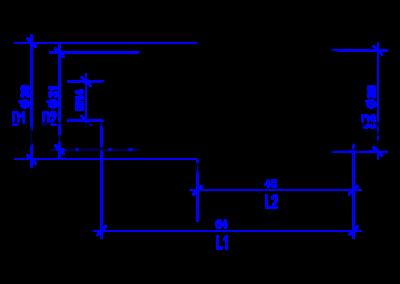 DREHMEISTER Euronozzle Autogas-Adapter mit M14-Außengewinde
