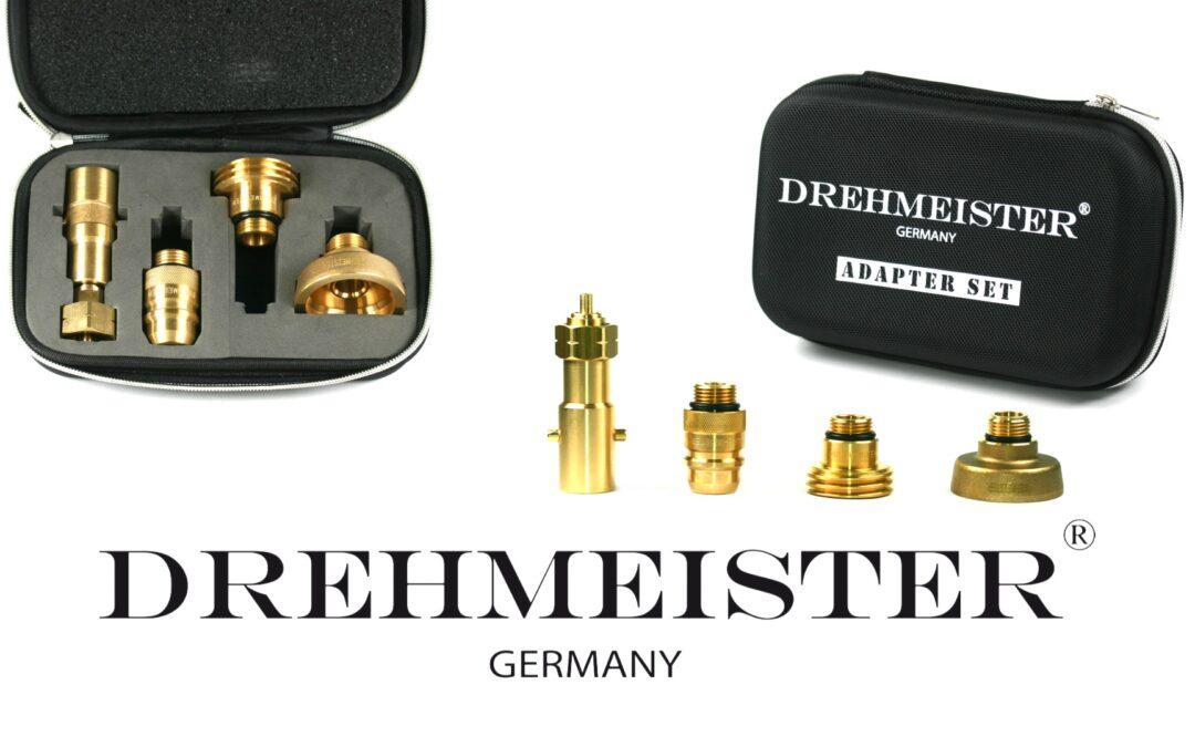 DREHMEISTER Autogas Tankadapter-Set