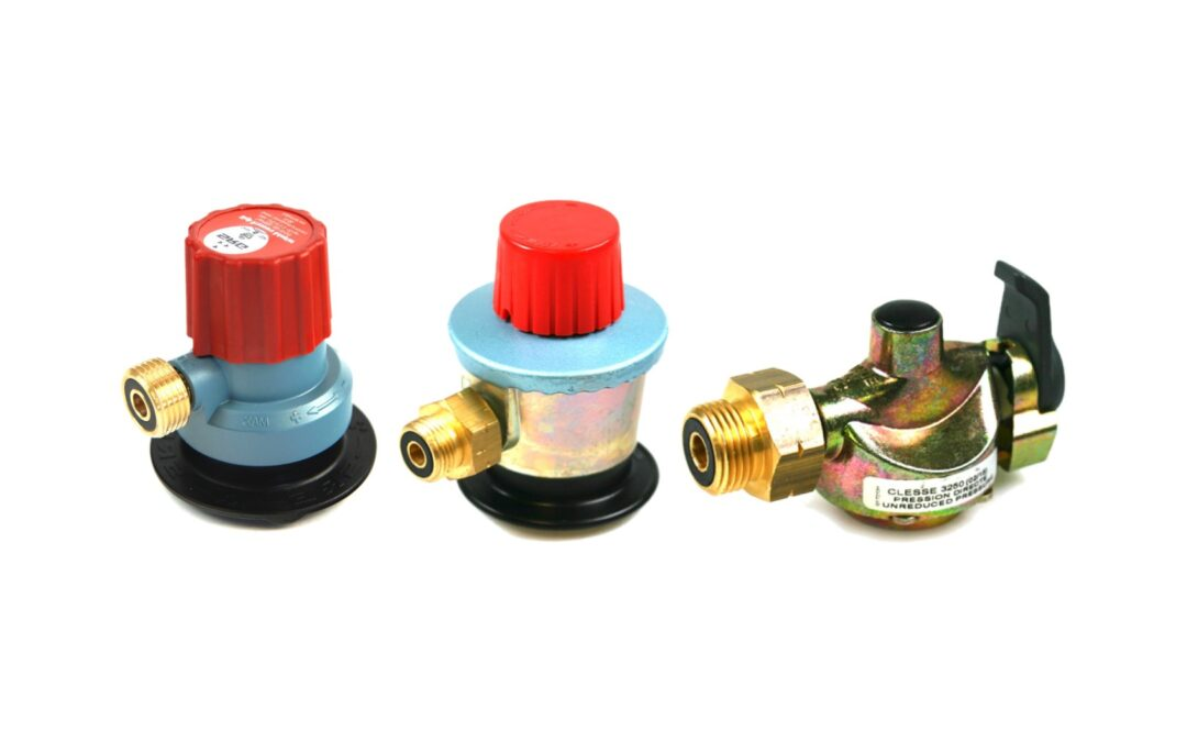 Gas Bottle Clip-On Adapter