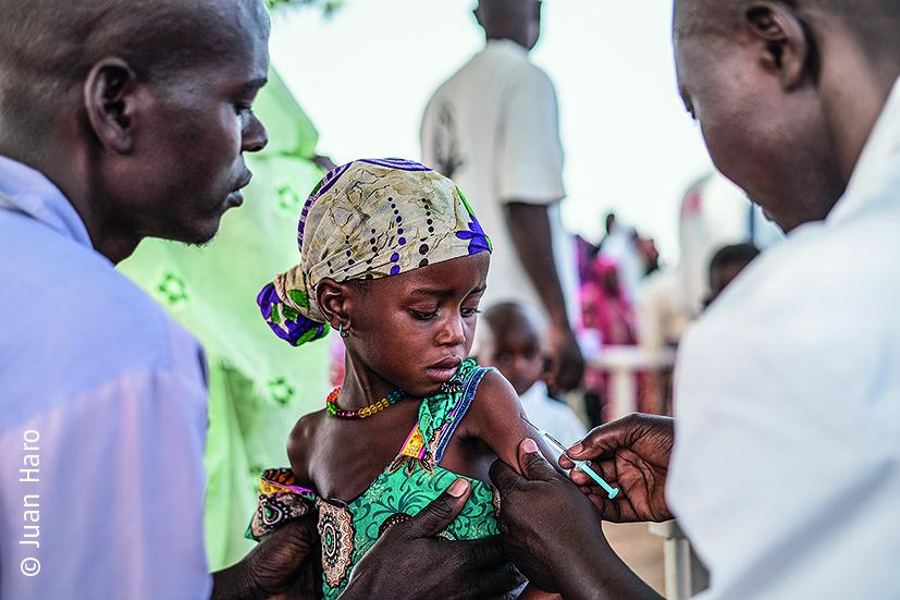 ÄRZTE OHNE GRENZEN Reaktion auf die Masernimpfung (Distrikt Am Timan)