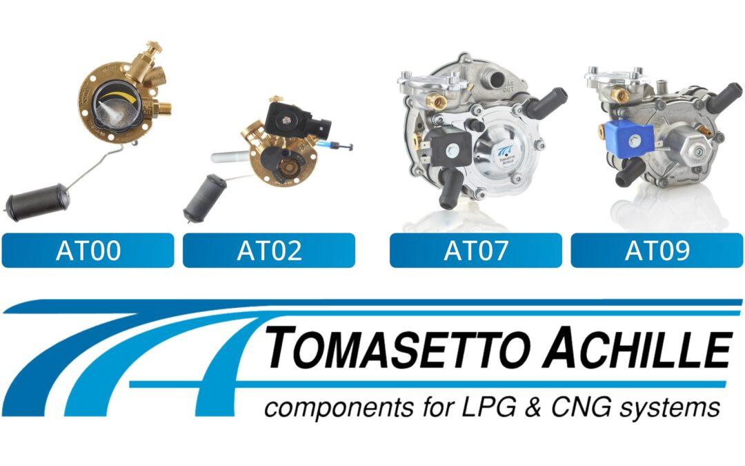 Tomasetto LPG & CNG Komponenten