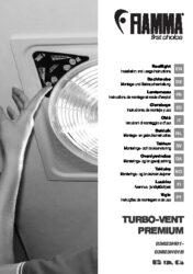 Montage- und Gebrauchsanleitung TURBO VENT PREMIUM