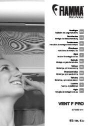 Montage- und Gebrauchsanleitung Dachhaube VENT F PRO