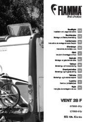 Montage- und Gebrauchsanleitung VENT 28 F
