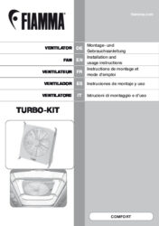 Montage- und Gebrauchsanleitung Turbo Kit