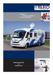 Installationshandbuch für Flat Sat (Italienisch)