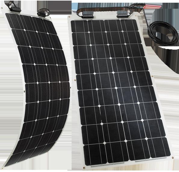 TELECO TSPF 110W – Das flexible Solarmodul für Wohnmobile, Wohnwagen & Camper